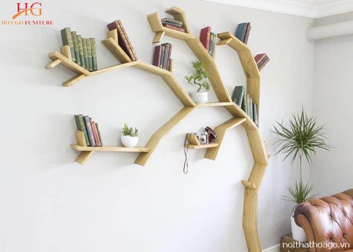 Kệ hình cây tự nhiên thông minh, tiện dụng