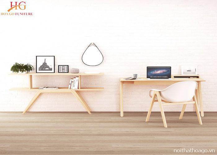 Kệ gỗ mang phong cách Scandinavian