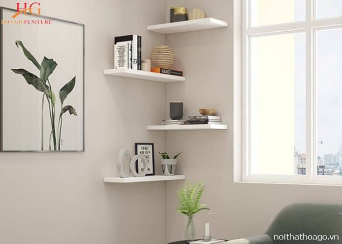 kệ gỗ thiết kế đơn giản
