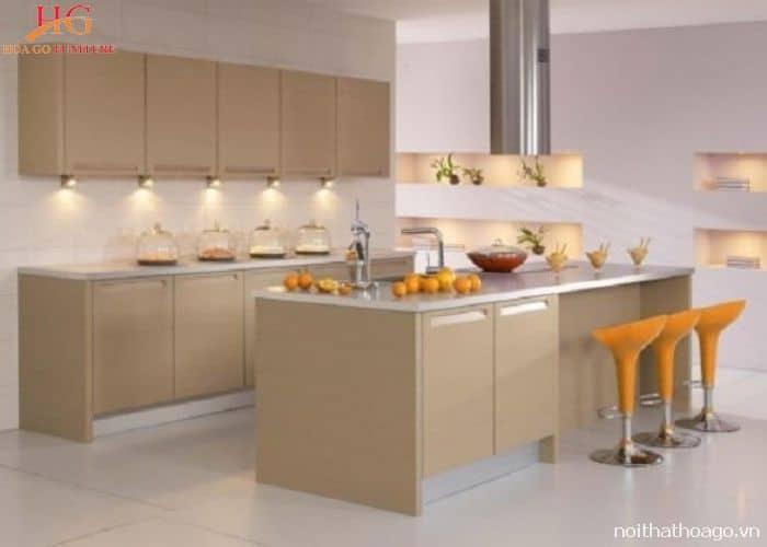 top 10 mẫu tủ, kệ bếp gia đình