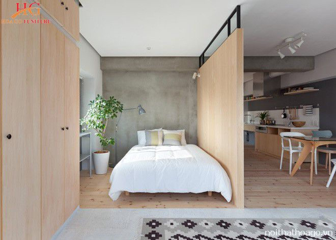 Top 10 vách ngăn gỗ phòng khách và phòng ngủ đơn giản