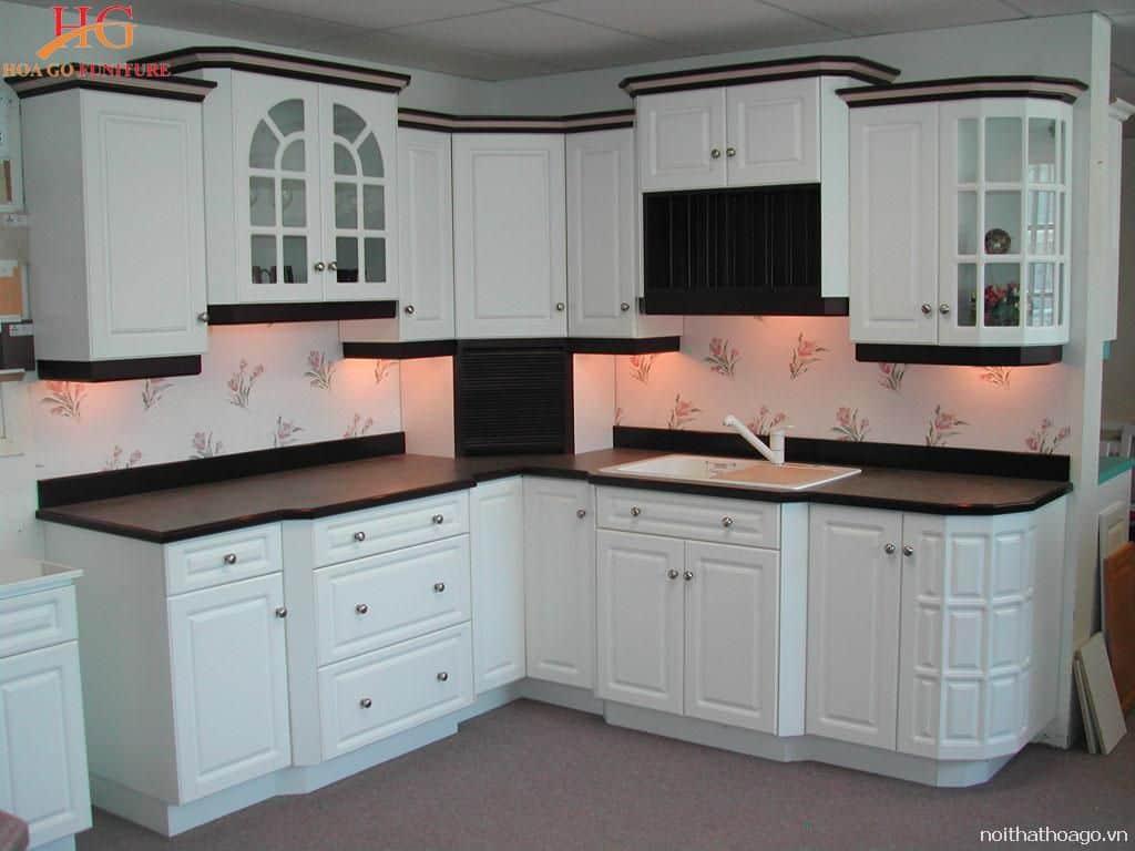 Tủ bếp bằng nhôm nhẹ chắc chắn và bền bỉ