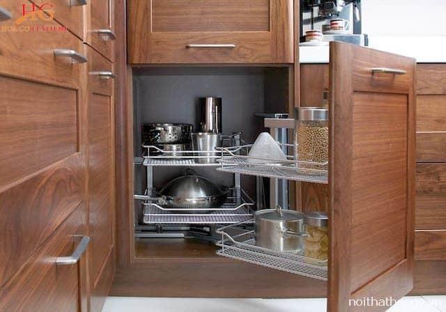 Tủ bếp thông minh sáng tạo