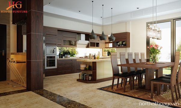 Nội thất gỗ tạo nên sự ấm cúng, gắn kết thành viên gia đình