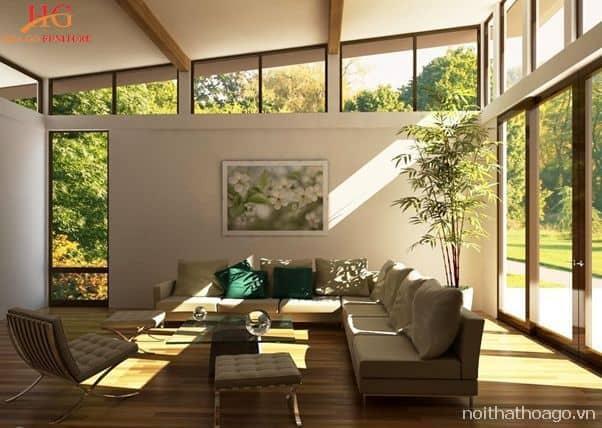 Cần có giải pháp về bài toán ánh sáng cho không gian phòng khách