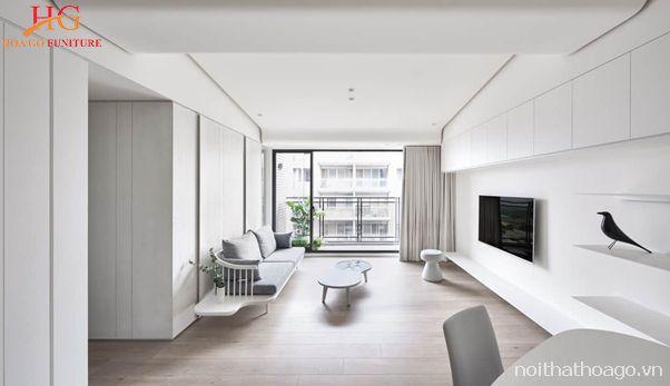 Khám phá phong cách thiết kế nội thất tối giản ấn tượng