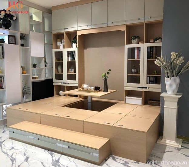 Bí quyết trang trí thi công nội thất cho nhà nhỏ hẹp Tp.HCM