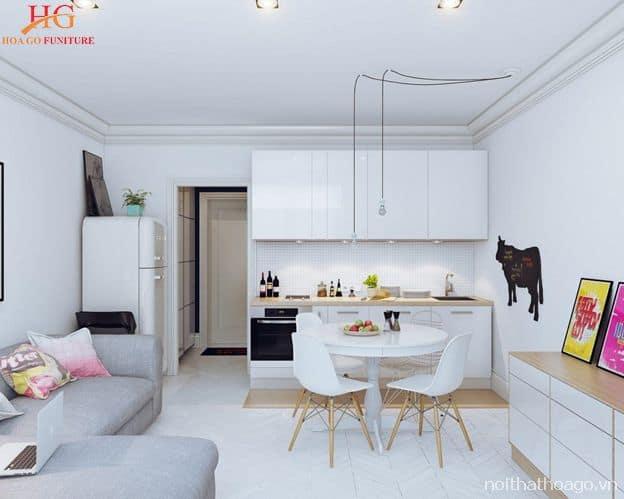Các món đồ nội thất cần được bố trí hợp lý để dễ dàng di chuyển