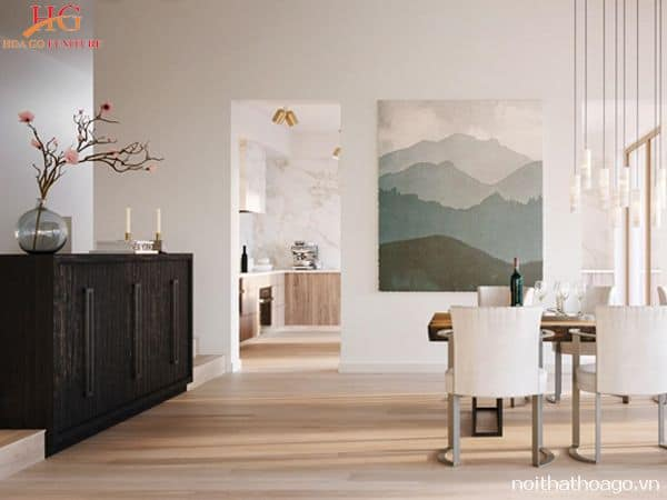 Đồ nội thất phong cách hiện đại rất đơn giản và chú trọng nhiều về công năng sử dụng