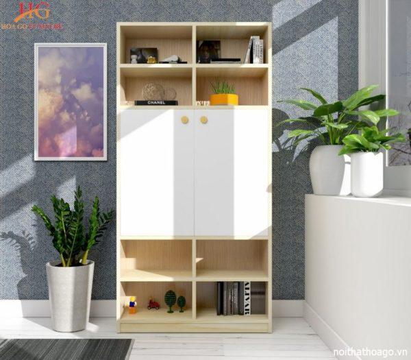 img tu trang tri TTT20HG 21 11 600x525 - Tủ sách, tủ trang trí