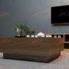 SF HG 151 100x100 - Bàn sofa gỗ MDF hình vuông đơn giản, mộc mạc