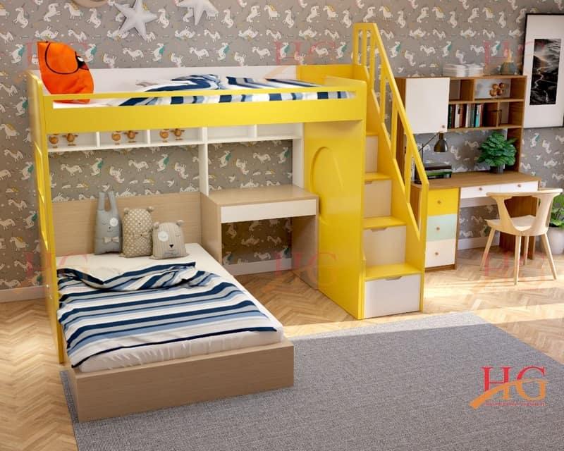 2b Denoiser1 - Giường tầng trẻ em