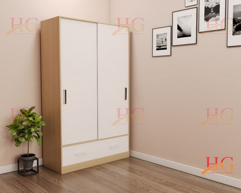 TA HG051 - Tủ áo Hoa Gỗ