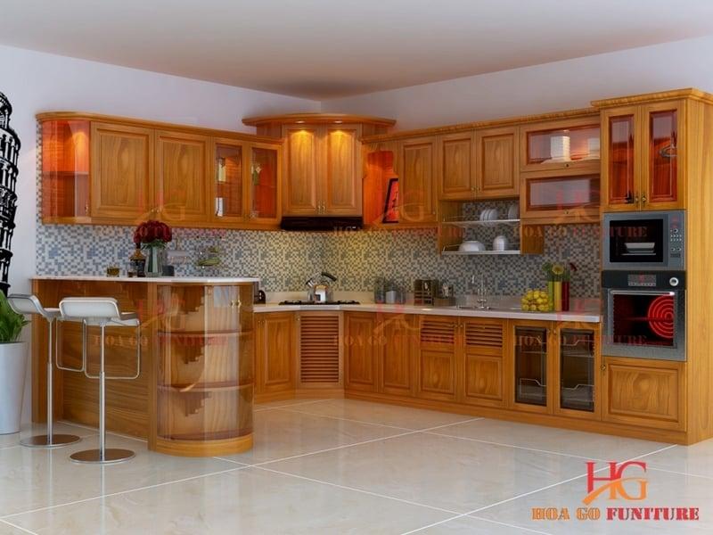 TN26 - Tủ bếp