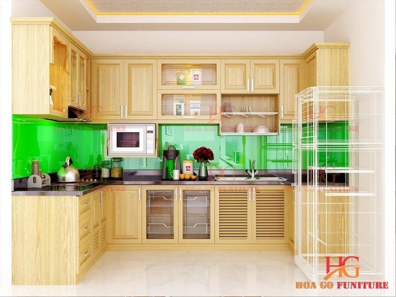 TN3d - Tủ bếp