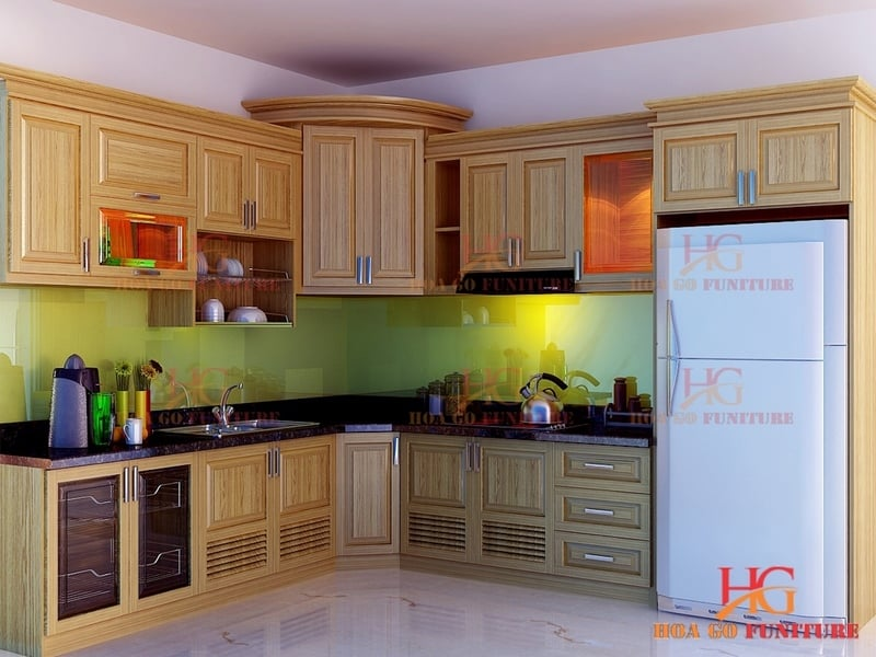 TN5e - Tủ bếp