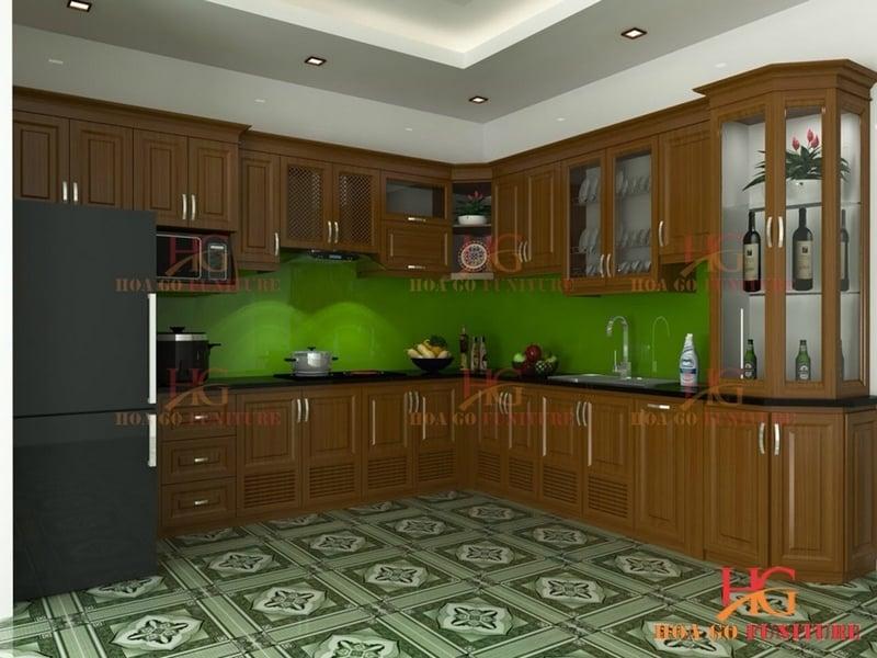 Tn11l - Tủ bếp