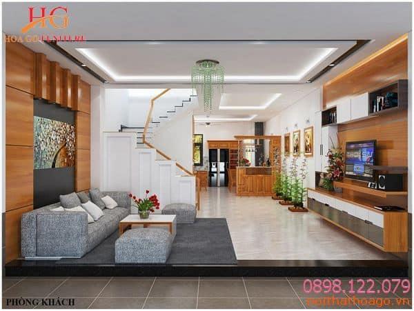 Chi phí dành cho thiết kế nội thất khoảng 200.000 đồng/1 m2