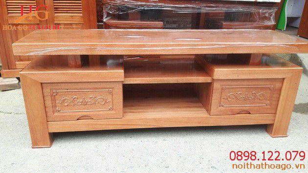 sản phẩm nội thất gỗ - Kệ tivi gỗ đang được ưa chuộng nhất năm 2019