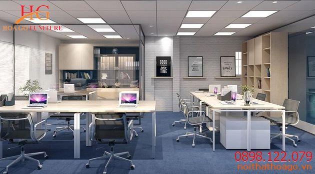 Bàn sẽ có thiết kế khác nhau tùy vào diện tích và chức năng từng phòng. Thiết bị nội thất văn phòng
