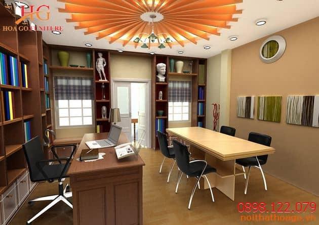 Tủ đựng tài liệu sẽ giúp sắp xếp hồ sơ chuyên nghiệp, ngăn nắp. Thiết bị nội thất văn phòng