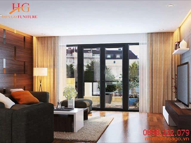 Mức đơn giá để thiết kế nội thất nhà phố có diện tích nhỏ dưới 50m2 khá tiết kiệm