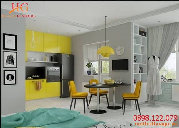 Thiết kế nội thất cần đảm bảo sự hài hòa và phù hợp