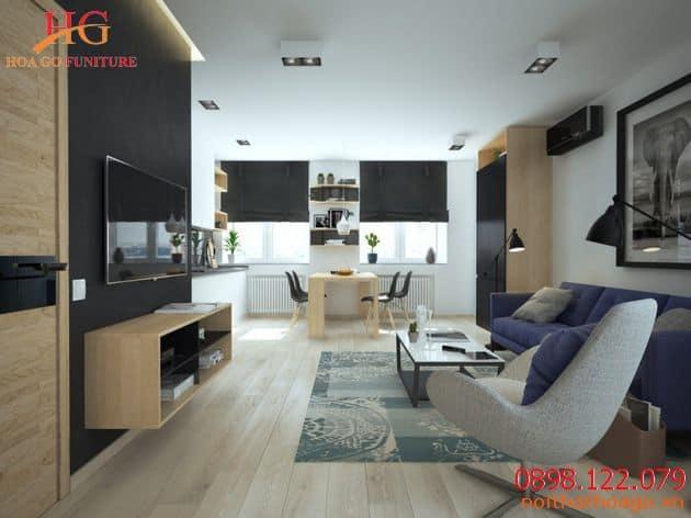 Địa điểm kinh doanh showroom nội thất căn hộ chung cư đẹp tại TPHCM
