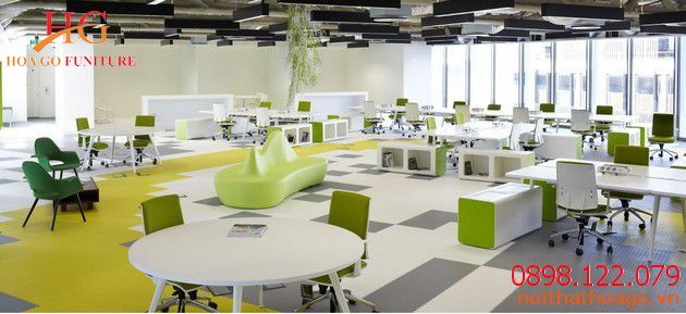 Mỗi văn phòng có một cách thiết kế và bày trí nội thất khác nhau nhưng vẫn xoay quanh bàn, ghế, kệ,....