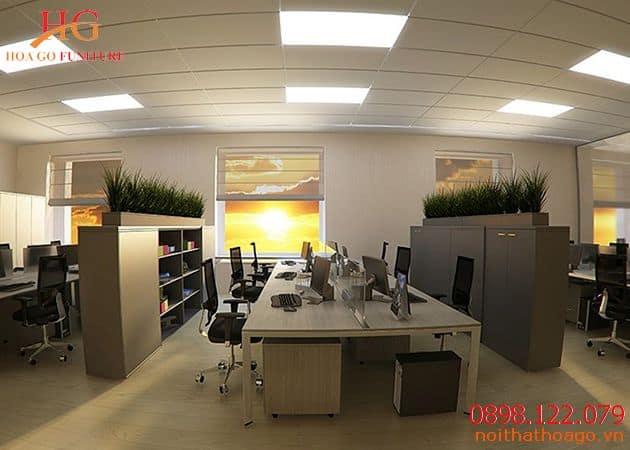 Cần có sự sắp xếp phù hợp cho văn phòng nhỏ. Xu hướng nội thất văn phòng