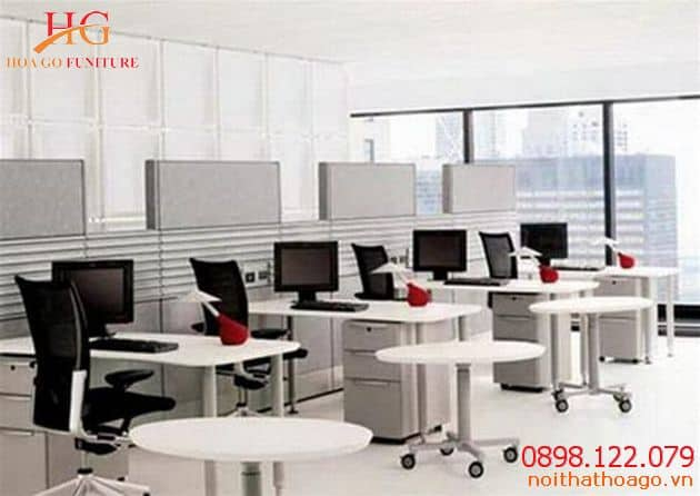 Nên lựa chọn các vật dụng đa tính năng. Xu hướng nội thất văn phòng