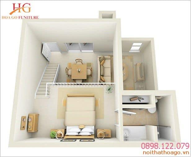 Chọn những đồ nội thất có gam màu tươi sáng để đem lại sự sáng hài hòa cho ngôi nhà