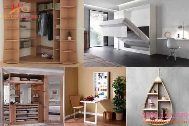 Với nhà phố có diện tích nhỏ thì nên sử dụng những đồ nội thất thông minh