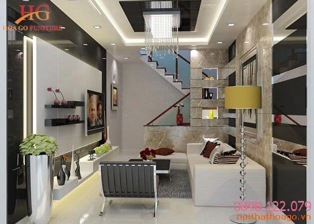 Chọn nội thất nhà phố nhỏ phù hợp để giúp không gian thêm rộng rãi hơn