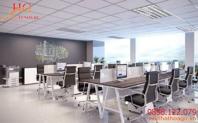 Nội thất dành cho văn phòng gồm những gì?
