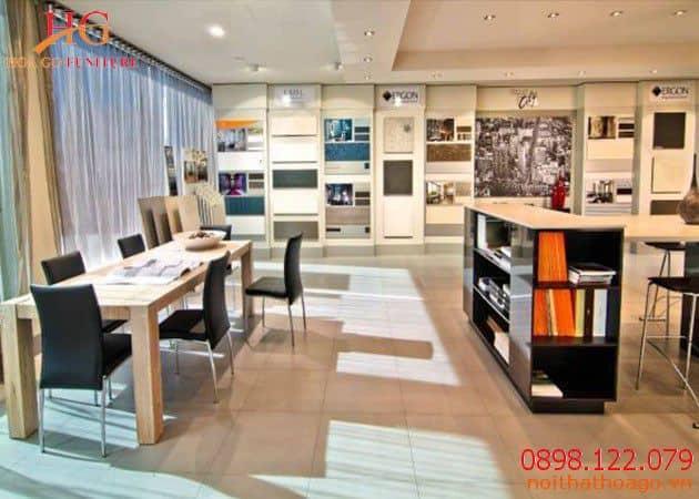 Lựa chọn mẫu thiết kế showroom nội thất giá rẻ TPHCM đẹp mắt, ấn tượng
