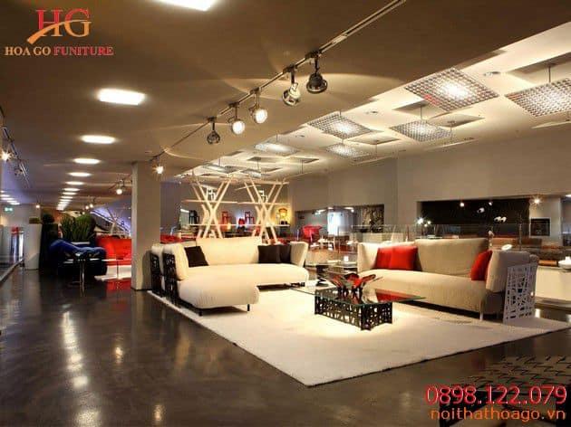 Chọn đơn vị thi công, thiết kế showroom nội thất giá rẻ uy tín nhất