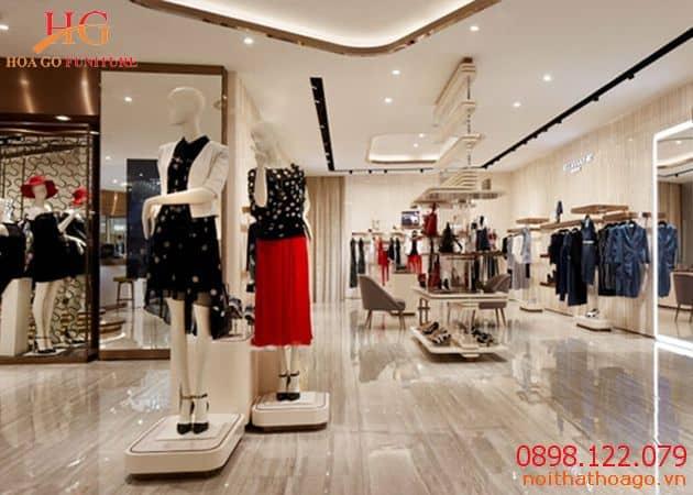 Showroom thời trang ấn tượng bắt mắt