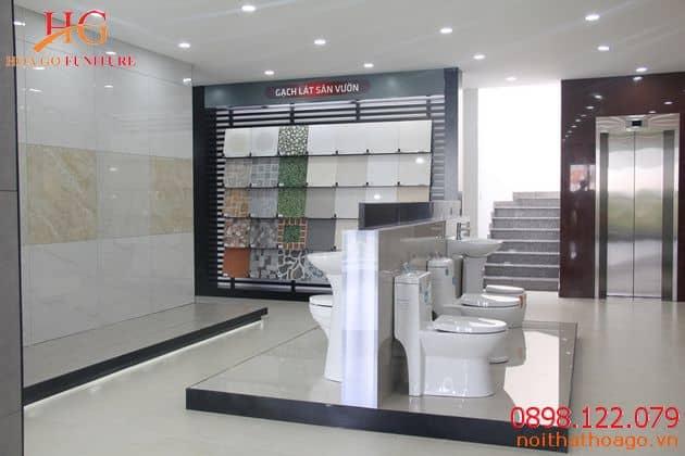Phòng trưng bày sản phẩm gạch Đồng Tâm đủ tiêu chuẩn thiết kế