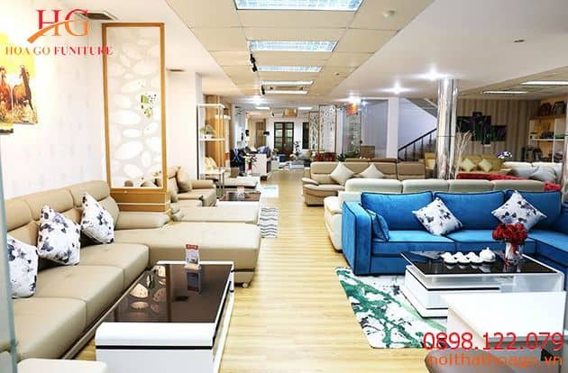 Showroom nội thất tận dụng ánh sáng