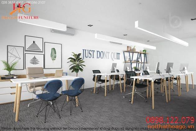 Showroom nội thất đẹp đề cao sự tối giản