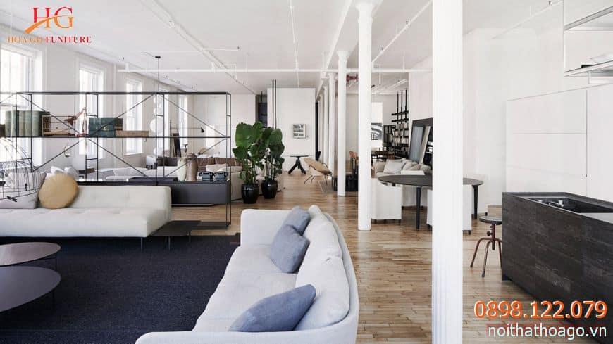 Nên chọn đơn vị thiết kế nội thất showroom uy tín