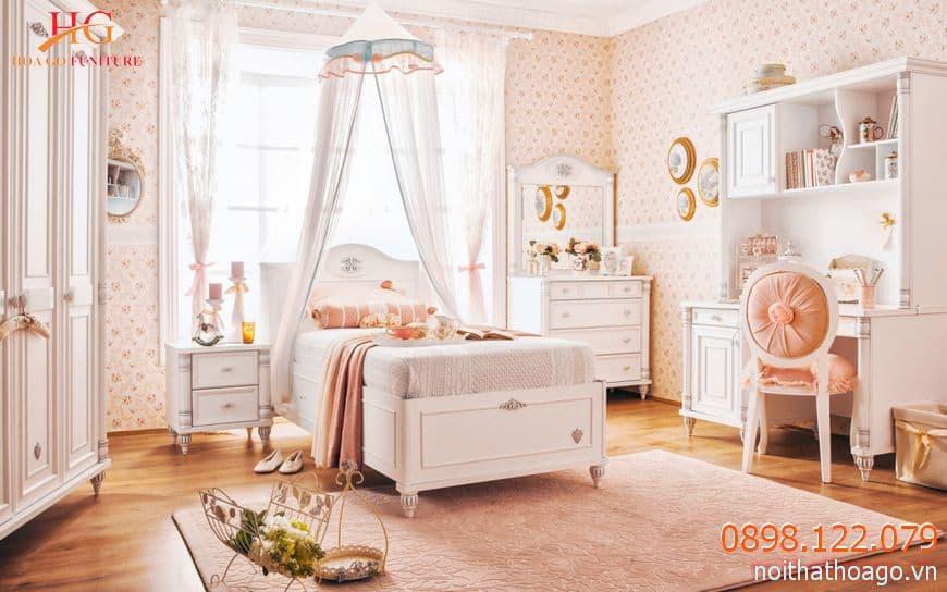 Có nhiều kiểu giường khác nhau thích hợp cho trang trí phòng trẻ