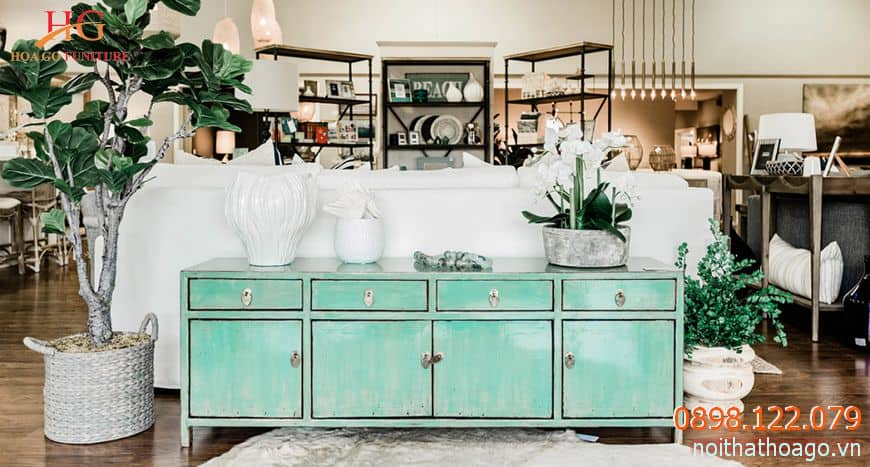 Mỗi doanh nghiệp sẽ có một phong cách thiết kế nội thất cho showroom khác nhau