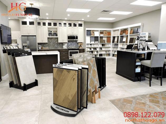 Nội thất Hoa Gỗ cung cấp dịch vụ thiết kế nội thất showroom bán hàng chất lượng hoàn mỹ
