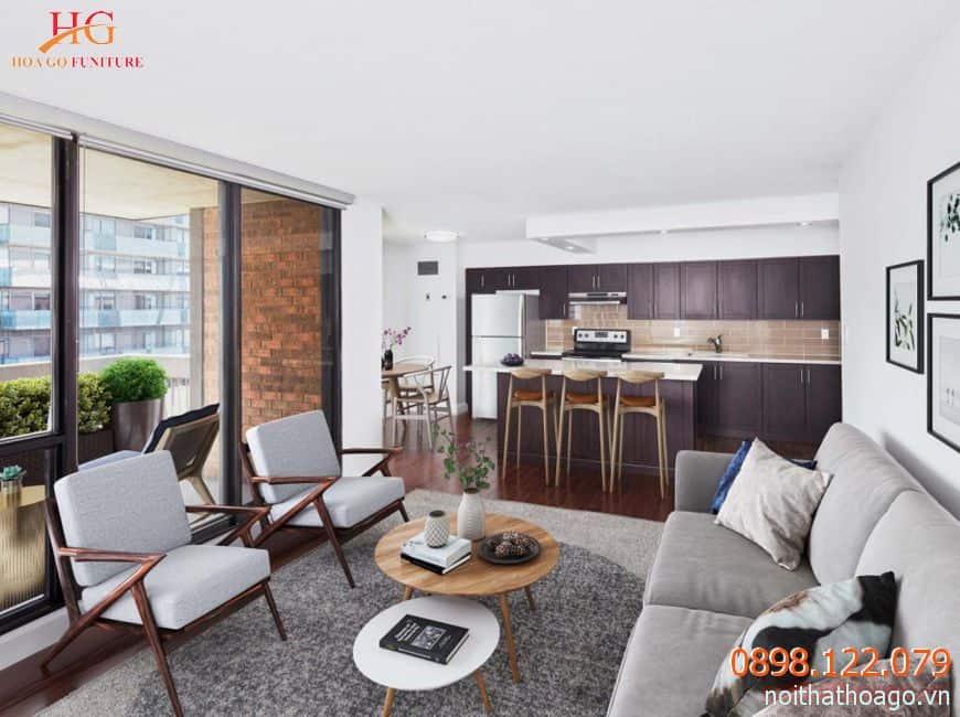 Nội thất là một phần quan trọng giúp tăng tính thẩm mỹ cho căn hộ