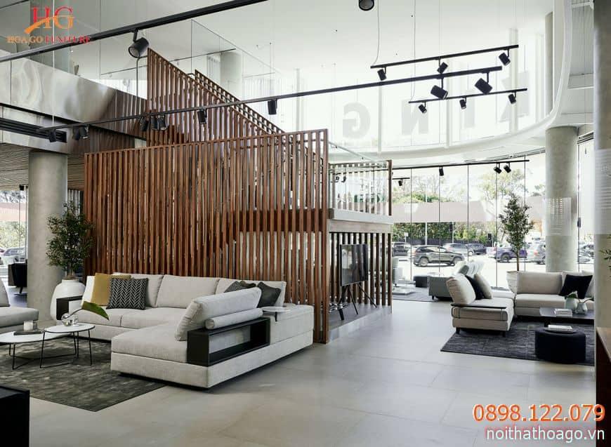 Thiết kế nội thất phòng trưng bày sản phẩm cần đảm bảo tính thẩm mỹ cao