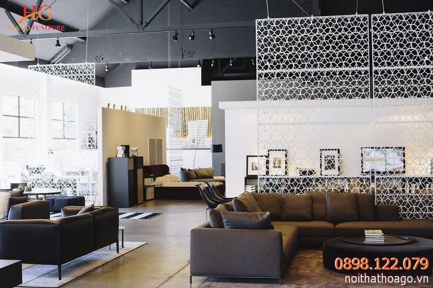 Thiết kế showroom đa phong cách tạo nên nhiều không gian cho khách hàng