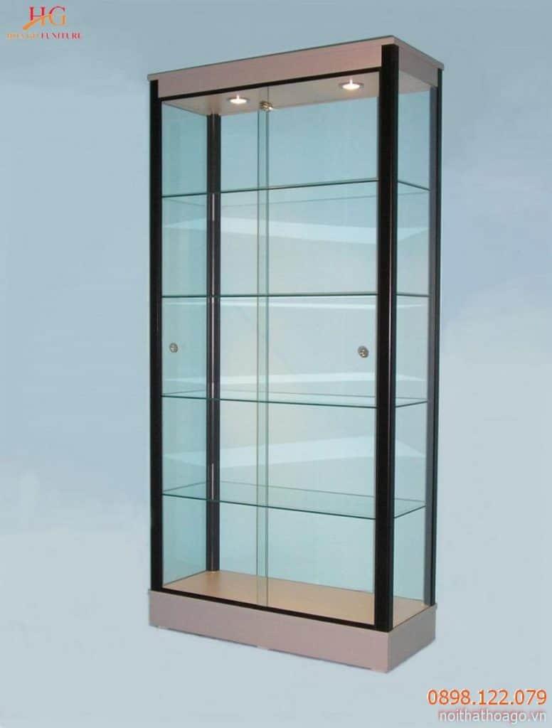 Tủ trưng bày bằng nhôm kính có tuổi thọ lên đến 10 năm