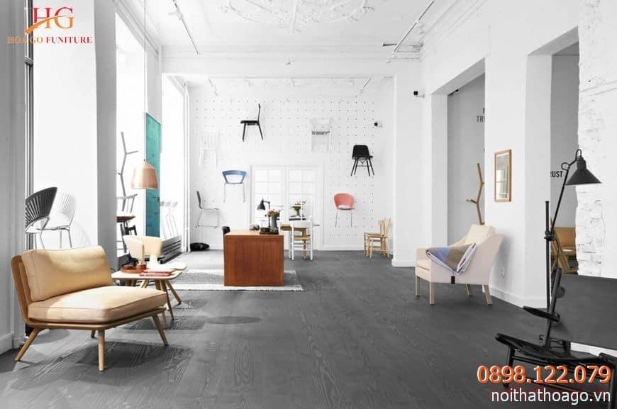 Thiết kế nội thất showroom cửa hàng theo phong thủy sẽ hút tài lộc cho doanh nghiệp